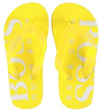 BOSS Flip Flops - Essentiel - Yellow