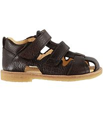 Angulus Sandals - Dark Brown