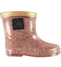 Petit by Sofie Schnoor Rubber Boots - Alfred - Rose/Glitter