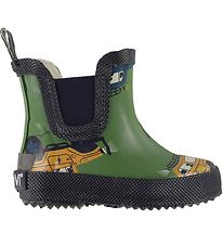 CeLaVi Rubber Boots - Elm Green/Tractor