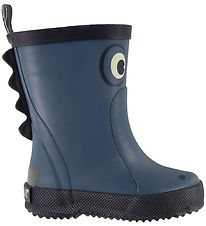 CeLaVi Rubber Boots - Ice Blue w. Crocodile