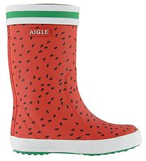 Aigle Rubber Boots - Lolly Pop Fun - Pasteque