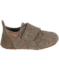 Bisgaard Slippers - Casual - Wool - Camel