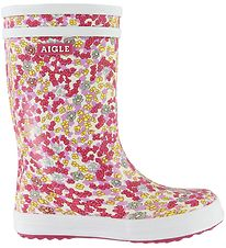 Aigle Rubber Boots - Lolly Pop Vrn - Sandy Orchide