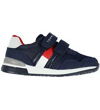 Tommy Hilfiger Sneakers - Low Cut Velcro - Navy