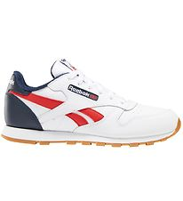 Reebok Shoes - Classic Leather - White/Red/Navy