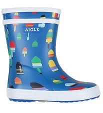 Aigle Rubber Boots - Baby Flac Fun - Flotteur