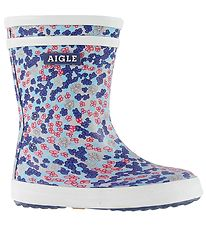 Aigle Rubber Boots - Baby Flac - Sandy Blue
