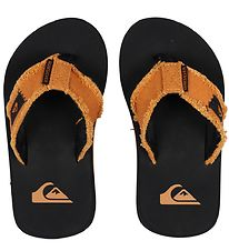 Quiksilver Beach Sandals - Monkey Abyss - Black/Orange