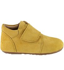 Bundgaard Soft Sole Suede Shoes - Tannu - Yellow