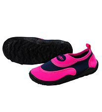 Aqua Lung Beach Shoes - Beachwalker Kids - Pink/Navy Blue