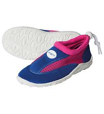 Aqua Lung Beach Shoes - Cancun Jr - Royal Blue/Bright Pink