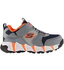 Skechers Shoes - Waterproof - Velocitrek - Grey/Navy