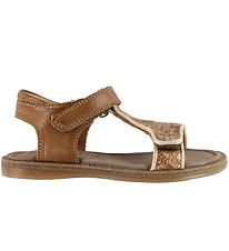 Bisgaard Sandals - Alma - Light Brown/Pearl