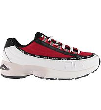 Fila Shoes - Dragster - White/Red