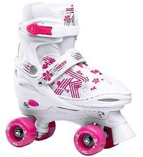 Roces Rollerskates - Quaddy 3.0 - White/Pink
