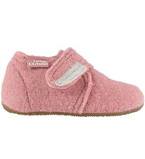 Living Kitzbühel Slippers - Wool - Ash Rose w. Velcro