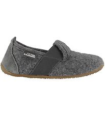 Living Kitzbühel  Slippers - Wool - Grey w. Elastic