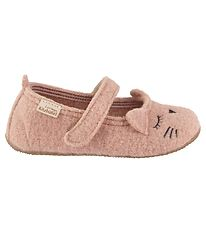 Living Kitzbühel Ballerina Slippers - Wool - Fandango w. Cat