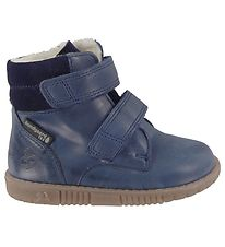 Bundgaard Winter Boots - Rabbit Velcro - Navy