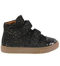 Bundgaard Shoes - Rie Velcro - Black w. Glitter
