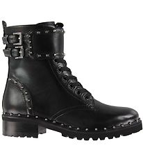 Steve Madden Boots - Birdy - Black Leather
