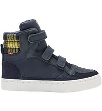 Hummel Shoes - HMLStadil Check Jr - Black Iris