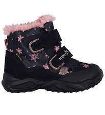 Superfit Winter Boots - Blue/Pink w. Snowflakes