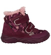 Superfit Winter Boots - Purple/Pink w. Snowflakes