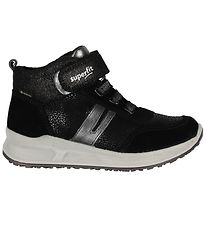 Superfit Sneakers - Tex - Black w. Glitter