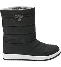 Hummel Winter Boots - HMLPuffer Boot Jr - Black