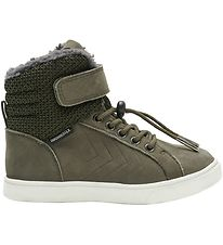 Hummel Winter Boots - Tex - HMLSplash Jr - Olive Night