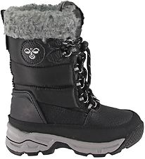 Hummel Winter Boots - Tex - HMLSnow Boot High Jr - Black
