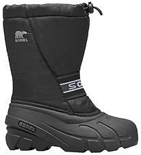 Sorel Winter Boots - Youth Cub - Black