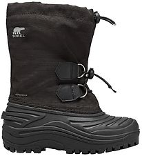 Sorel Winter Boots - Youth Super Trooper - Black