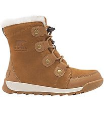 Sorel Winter Boots - Youth Whitney ll - Brown
