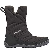 Columbia Winter Boots  - Youth Minx Slip ll - Black