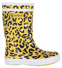 Aigle Rubber Boots - Lolly Pop Kid - Leopard