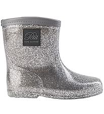 Petit by Sofie Schnoor Rubber Boots w. Lining - Silver
