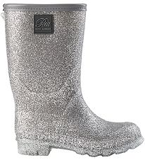 Petit by Sofie Schnoor Rubber Boots w. Lining - Sandie - Silver