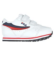 Fila Shoes - Orbit Velcro Infants - White