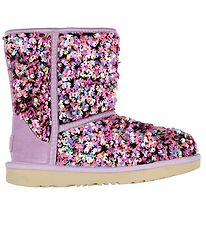 UGG Boots - Classic ll Stellar Sequin - Lilac Frost