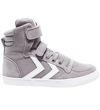 Hummel Shoes - HMLSlimmer Stadil High Jr - Frost Grey