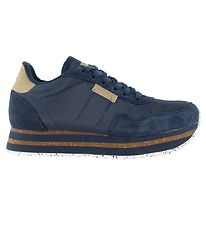 Woden Shoes - Nora II Plateau - Navy