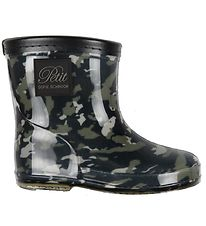 Petit by Sofie Schnoor Rubber Boots - Alfred - Camouflage Green