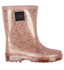 Petit by Sofie Schnoor Rubber Boots - Nille - Rose w. Glitter