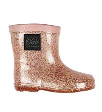 Petit by Sofie Schnoor Rubber Boots - Ariel - Rose w. Glitter