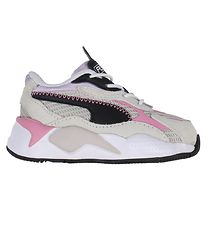 Puma Shoes - RS-X 3 TWILL Airmesh AC Inf - Grey/White/Rose