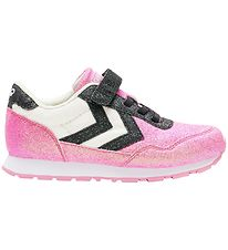 Hummel Shoes - HMLReflex Glitter Jr - Black/Pink