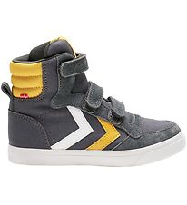 Hummel Shoes - HMLStadil High Jr - Asphalt
